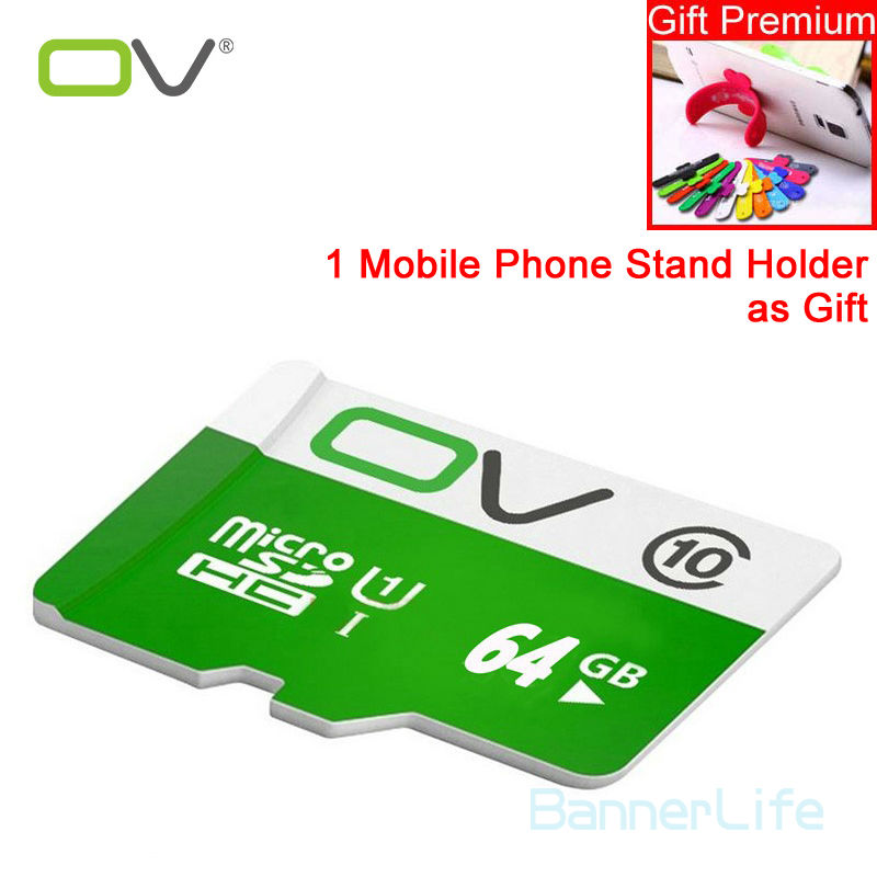 OV Memory Micro SD Card 64GB Class 10 32GB 16GB TF Carte Microsd Flash Card SDCard for Mobile Phone Smartphone Tablet MP3 Camera(China (Mainland))
