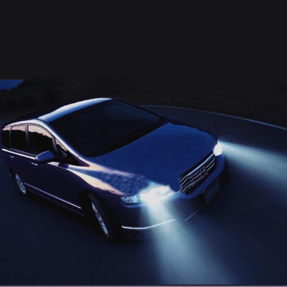 2 Pcs lot Fog Lights Constant Current H3 Car LED Light White 28 Lamp E2shopping