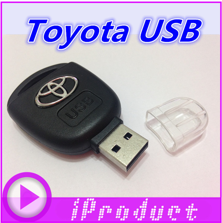 USB Toyota Car Key USB flash drive Japanese memory stick drives creative gift plastic u-disk pen genuine portable quality(China (Mainland))