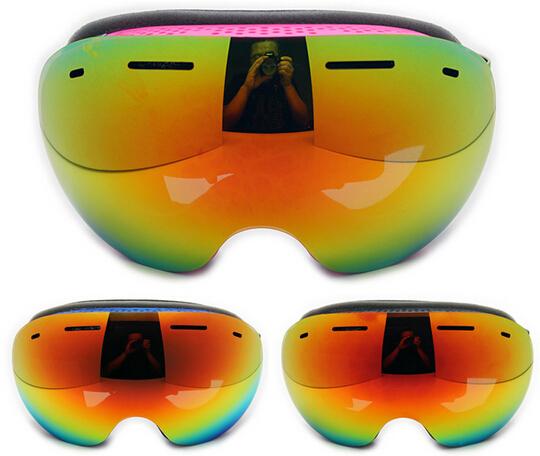 Ski Goggles Double Lens Anti-fog Big Spherical Professional Ski Glasses Unisex Multicolor Snowboard Goggles Snow Glasses