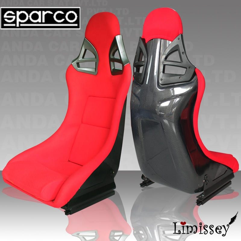 2015 new Red/Blue/Black sparcos FPR AD911 carbon fiber racing car seats for panamera 1pair/2 pieces(China (Mainland))