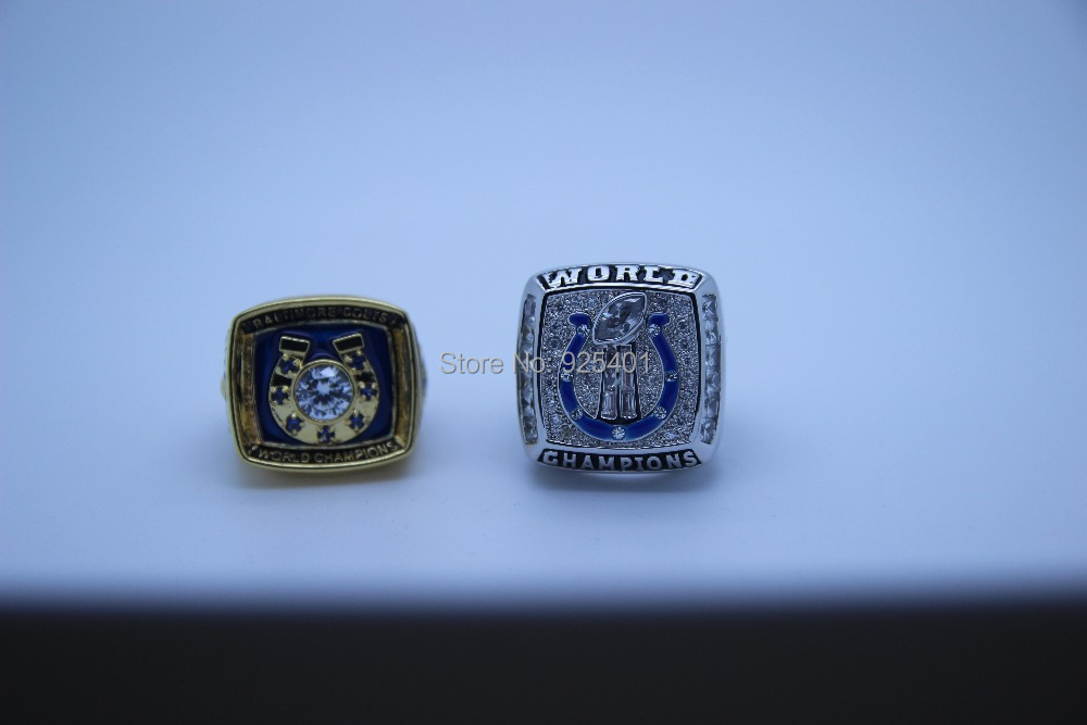 Indianapolis Colts Rings Copper Plating Replica Championship National Football League Super Bowl - born4beauty store