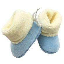 Moda Recién Nacido Infante Niño Los Zapatos Del Pesebre Del Bebé de Las Muchachas Suavemente Suela Botas de Nieve de Invierno(China (Mainland))