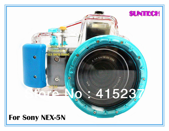 Free shipping Waterproof camera diving shell for Sony Nex 5N(18-55mm)