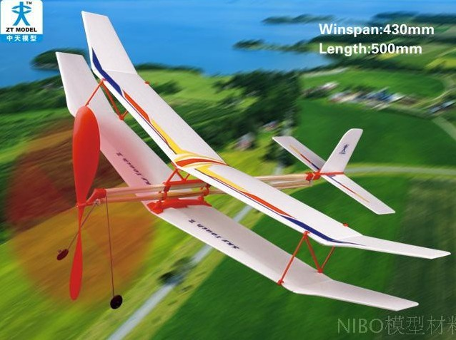 Assembly model,Aircraft Toys,toy plane,Toy Aircraft with rubber band for Children's toys(China (Mainland))