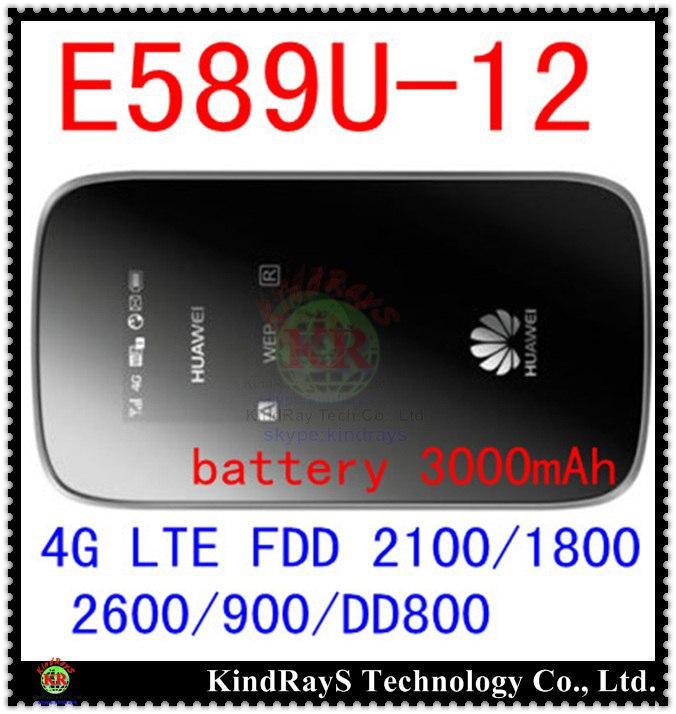 Unlocked E589 fdd 4g lte 3g mifi router Huawei E589u 12 LTE 4g wifi router Hotspot