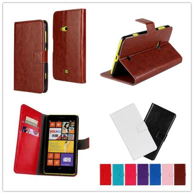 Чехол D431-A кожа, для Lumia 625 N625 чехол дизайн кобура перевёрнутый ума - лошадь полиуретан чехол