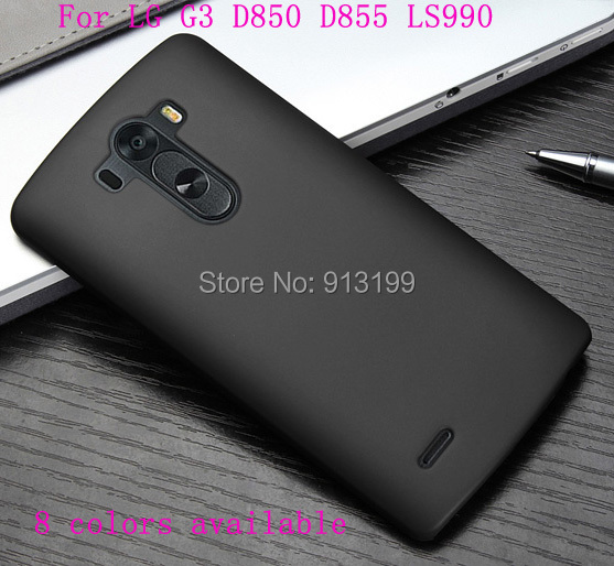 Matte Frosted Hard Black Case Skin Cover LG G3 D850 D855 LS990 Mobile Phone ( 8 colors available) - E-online store