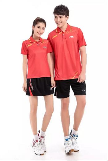 Aliexpress.com  Buy 2015 New Li Ning Badminton Apparel Shirts Men and Women Badminton Shirt ...