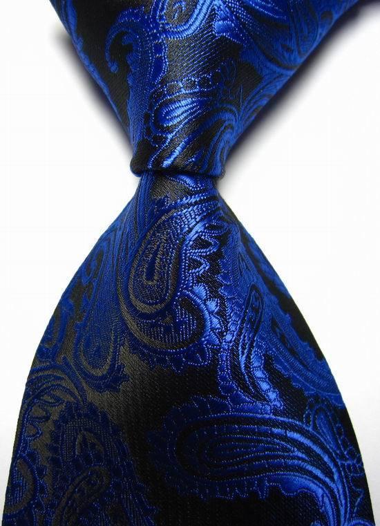 Royal Blue Paisley Ties