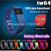 Bluetooth Smart Watch TW64 SmartBand Bracelet Wearable Life Waterproof Pedometer SmartWatch For IOS Android Fitness Tracker