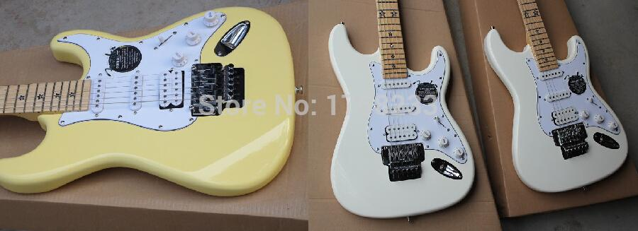 2019 Free shipping new stratocaster electric guitar fretboard pentagram double roll electric guitar(China (Mainland))