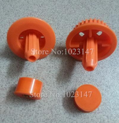 2x brush bearing + 2x gears for Neato XV-21 XV Signature Pro series vacuum cleaner,Replacement Neato parts !!(China (Mainland))