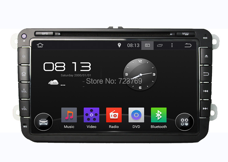 Pure Android 4.4.4 Car DVD GPS Navigation System for Volkswagen: SEAT/CC/POLO/Golf5/Golf 6 (offer installation tool for free)(China (Mainland))