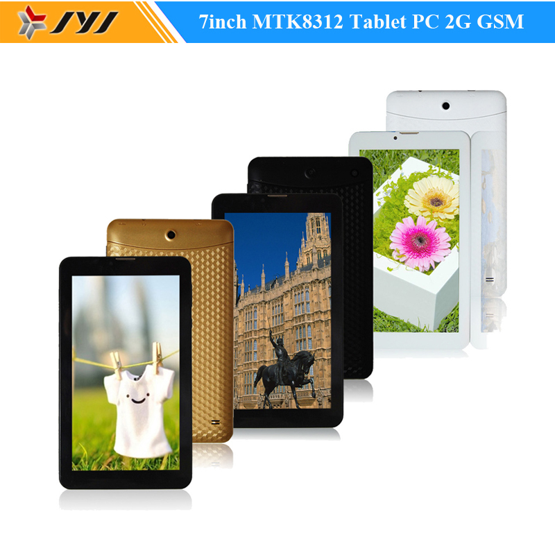 7Inch MTK8312 Dual Core Android 4.2 Tablet PC 4GB 2G GSM 850/900/1800/1900 Phablet GPS Cameras Bluetooth WIFI(China (Mainland))