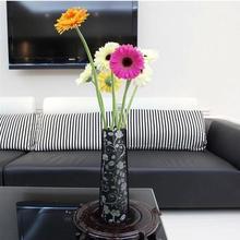 Creative Environmental Protection PVC Plastic Foldable Vase Flowers Jardiniere(China (Mainland))