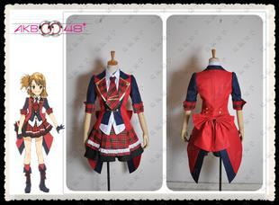 2014 New Retail  Promotion  AKB0048 Yuko Oshima the 9th Oshima-san Cosplay Costume CC92  Free Shipping Hot selling