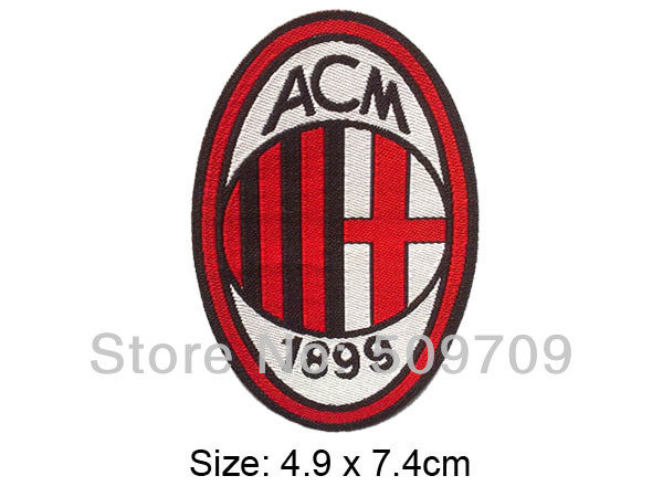 European Football team Logo Woven Label Patch of Sticker, Soccer team Badge Iron On Patch Wholesale, DIY Cloth Accessories(China (Mainland))