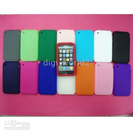 50pcs Tires pattern Silicone Skin Cover Case For 3G 3gs dropship christmas gift