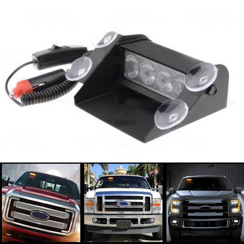 emergency beacon car truck flashing strobe light bar in warning lights. Black Bedroom Furniture Sets. Home Design Ideas