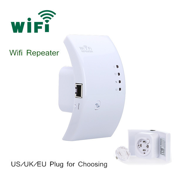 High Quality Wifi Repeater Wireless 802.11N/B/G Network Router Range Expander 300M Antenna Signal Booster AP Wifi Router(China (Mainland))