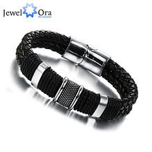 Buy Wide Mens weave Chain Men Bracelet Wristband Men Classic Bracelet Men Bangle Jewelry (JewelOra BA101163) for $4.76 in AliExpress store