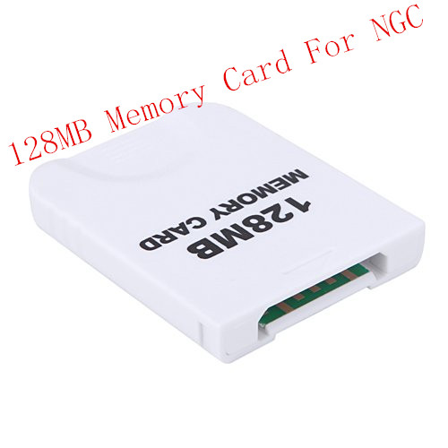 2015 Newest Hot Sale 128MB Memory Storage Card Saver For Nintendo For Wii For GameCube For NGC Xmas Gift(China (Mainland))