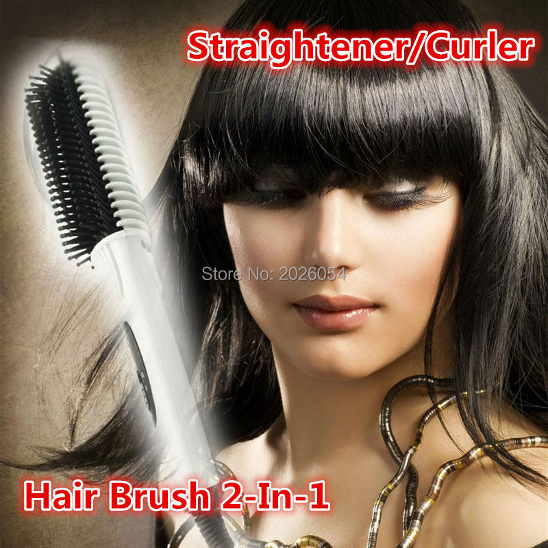 Free Shipping 2016 New hair brush hair straightener comb irons Electric Hair Comb hair styling tools straightening irons(China (Mainland))