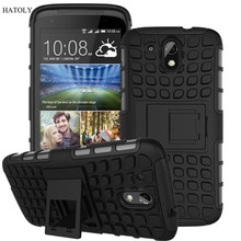 For HTC Desire 526G Case 526 526G+ Heavy Duty Armor Shockproof Hybrid Hard Rugged Rubber Phone Cover For HTC Desire 326 326G *<(China (Mainland))