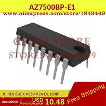 Integrated Circuits Types AZ7500BP-E1 IC REG BUCK 4.95V 0.2A DL 16DIP 7500 AZ7500 2 - Chips Store store
