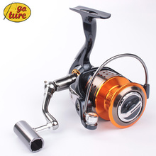 2015 Goture New GT4000 11BB Metal Spinning Fishing Reel Carp Fishing Wheel Spinning Reel CNN Handle,10 Piece Shrimp As Gift