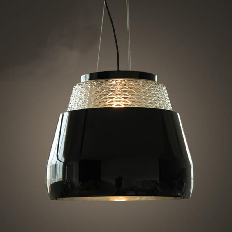 Contemporary and contracted creative personality retro art metal + glass chandelier cafe restaurant lamps warm chandelier