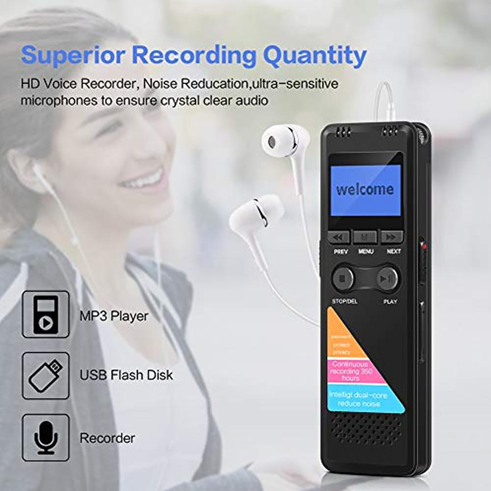 ЖК дисплей лекции долгого ожидания USB цифровой Аудио Мини Запись Ручка интервью aeProduct.getSubject()
