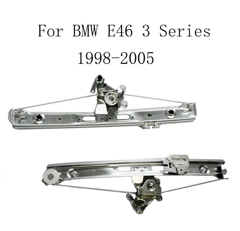 Купить Для BMW E46 3 Серии 1998-2005 Электрический Автомобиль Стеклоподъемника Стеклоподъемника Замена Задний Левый 51358212099