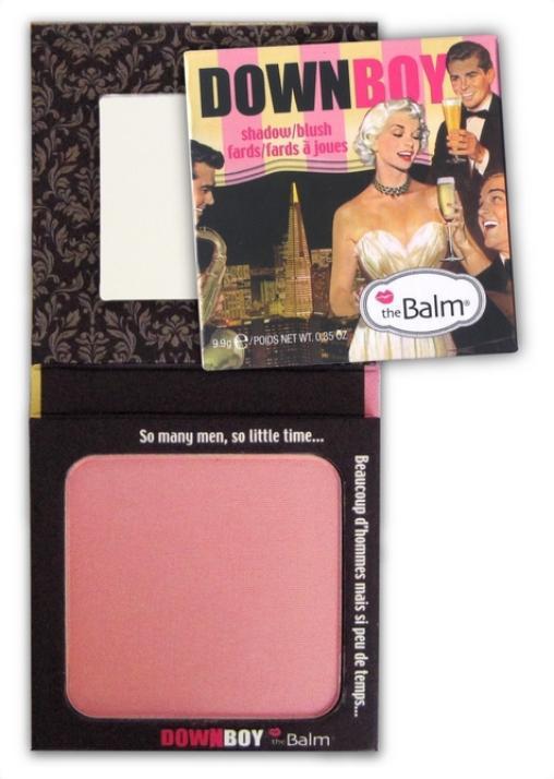 1pcs retail The balm down boy shadow and blush Makeup blusher palette free shipping<br><br>Aliexpress