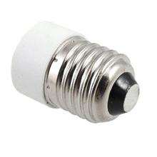 Торговый время! Новый белый серебряный тон E27 к E14 база из светодиодов лампы накаливания адаптер конвертер