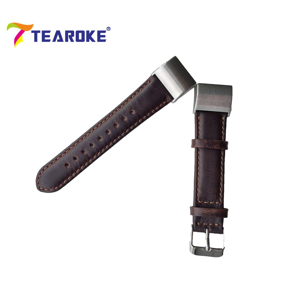 TEAROKE for Fitbit Charge 2 Band Wristband Arrival Leather Strap Watchband Heart Rate & Activity Tracker Bracelet(China (Mainland))