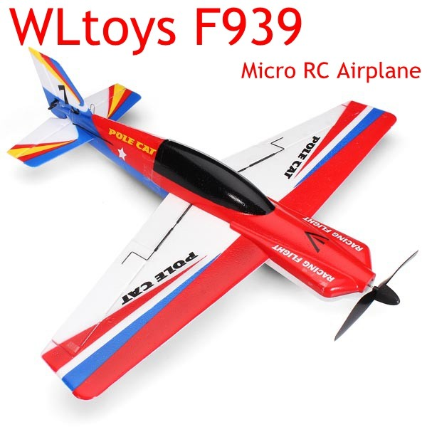 Upgraded WLtoys F939 2.4G 4CH 6 Axis RC Model Airplane Plane RTF Left Hand Throttle Mode