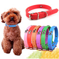 Super Soft Silicone Puppy Dog Collar Cartoon Dog Paw Charms Accessories Studded Collars for Small Dogs