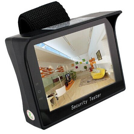 """Portable 3.5"""" inch TFT LCD Audio Video Security Tester CCTV Camera Test Monitor(China (Mainland))"""