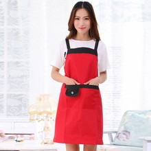 Fashion Women Kitchen Restaurant Bib Cooking Aprons Pockets Bowknot New L1 - Pet Store store