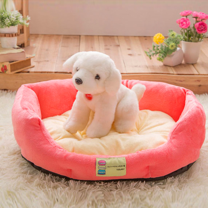 2016 New Pet Dog Cat Bed Puppy Safety And Fashion Good Quality Dog Bed House Warm Pet Bed And Coffee Pet Home For Winter Season(China (Mainland))