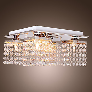 Здесь можно купить  Modern Crystal Ceiling Light Lamp With 5 Lights For Living Room Lustres Stainless Steel Free Shipping Modern Crystal Ceiling Light Lamp With 5 Lights For Living Room Lustres Stainless Steel Free Shipping Свет и освещение