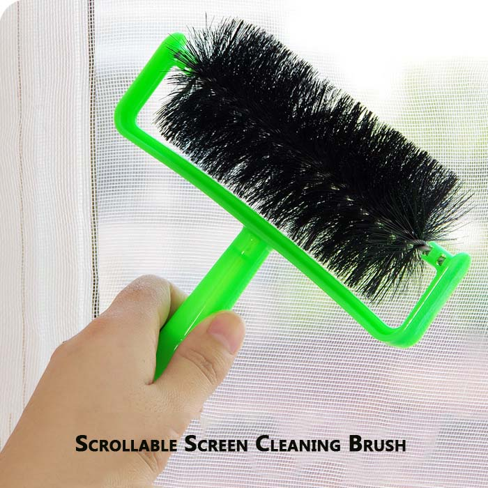 scrollable screens dust cleaning brushes,split screen-free brushes,shutters stealth screen window cleaning tools(China (Mainland))