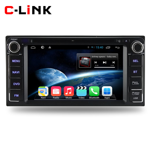 Pure Android 4.4.2 Dual Core 1.7GHz Car PC Video Player For Toyota Corolla Old Camry Prado Land Cruiser With Radio GPS WIFI 3G(China (Mainland))