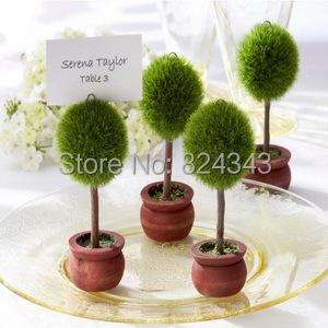 Small s+Unique Party Favors Topiary Photo Holder/Place Card Holder Bridal Shower Favors+2+ - Romantic Wedding Gift Shop store