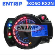 Универсальный цифровой жк-спидометр мотоциклов тахометр для 1, 2 и 4 цилиндров
