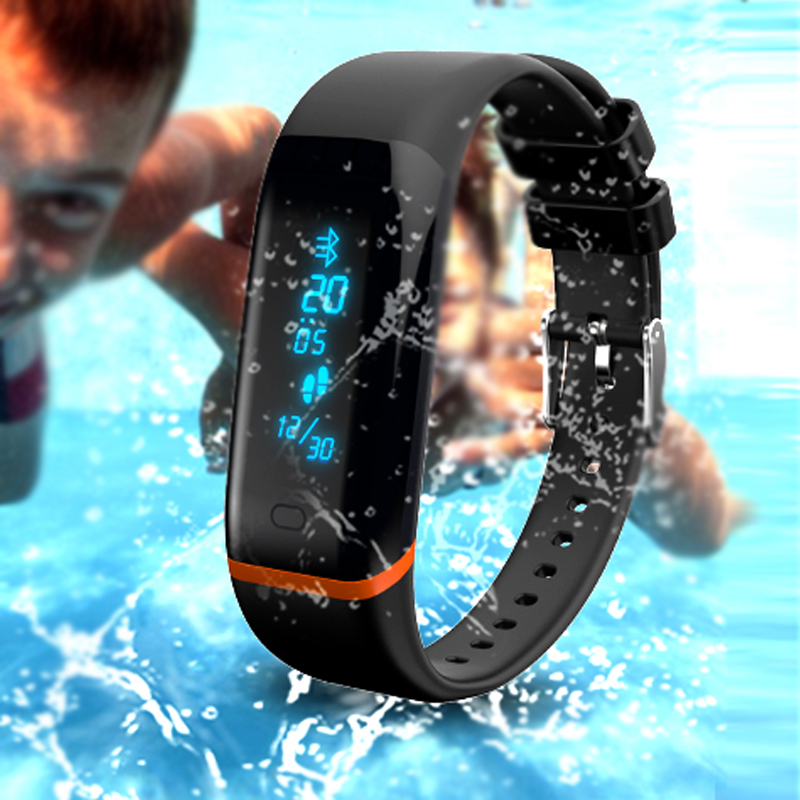 Smart Band X12 Heart Rate Monitor Fitness Tracker Bluetooth Bracelet Passometer Wristband for iOS Android(China (Mainland))