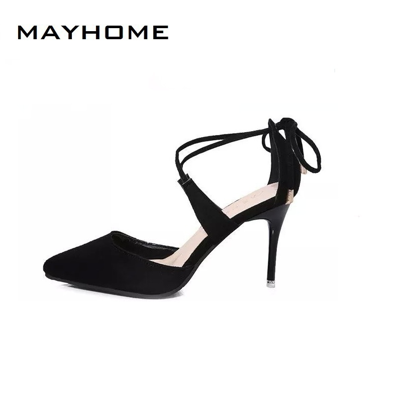 Famous Brand Red Sole High Heels Women Pumps Sexy Pointed Toe Women Shoes Slip-on Pointed Toe Wedding Shoes Woman Zapatos Mujer