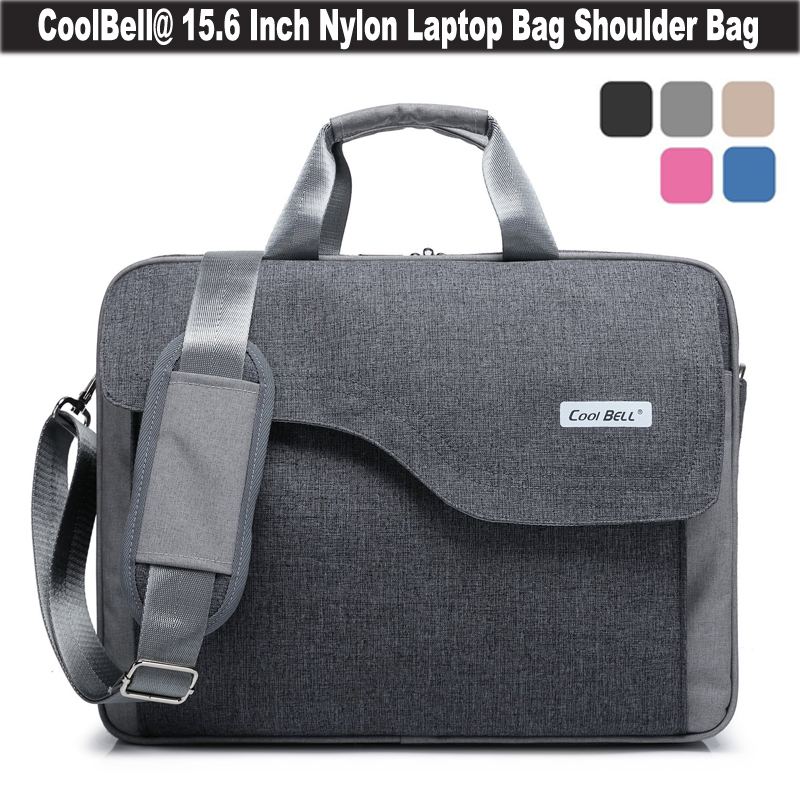 Coolbell 15.6 inch Colorful Waterproof Laptop Bag Men Women Notebook Bag Multi Pockets Computer Business Travel Carry Briefcase(China (Mainland))